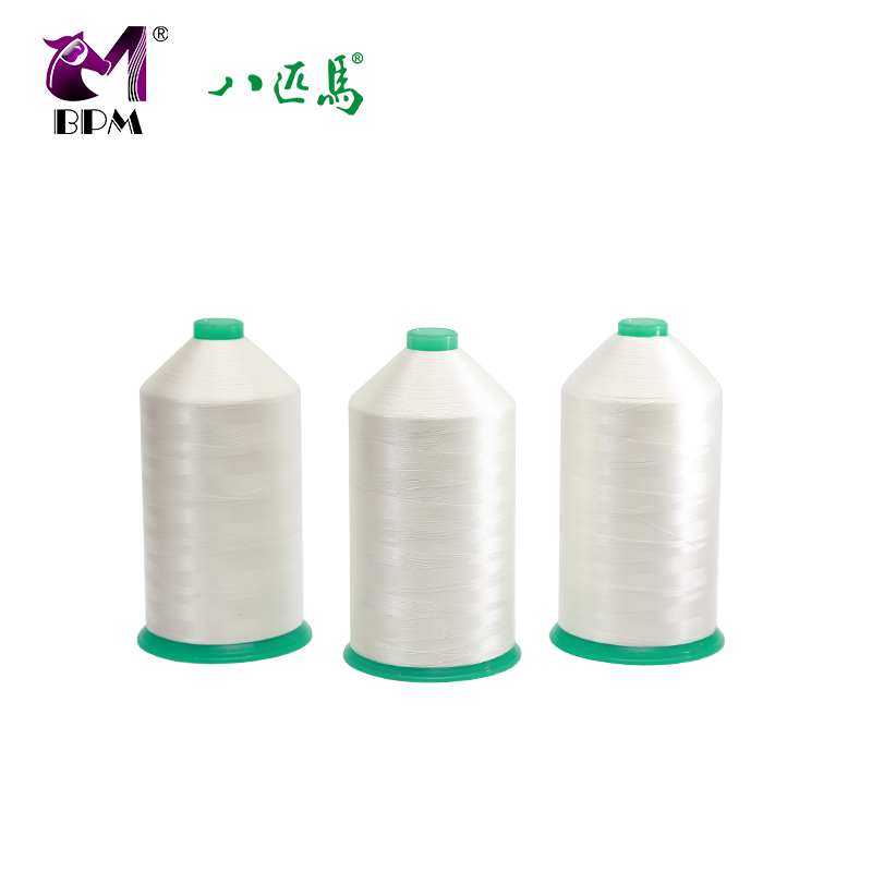 210D/3 bag sewing thread 100 polyester white color