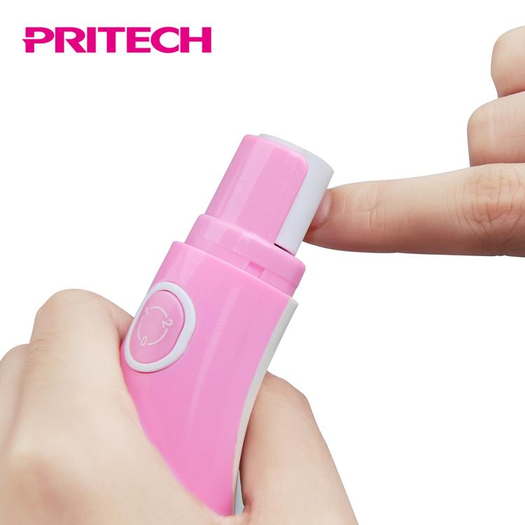 PRITECH Китай поставщиков 2 Pedi съемными роликовыми насадками 2 скорости Электрический Фрезер для ногтей, фрезер для полировщик для леди