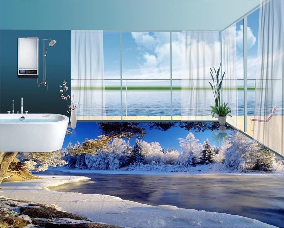 3d Flooring Wallpaper Custom Waterproof 3d Pvc Flooring
