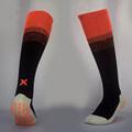 Men Over knee Thick Soles Anti slip sports stocking football soccer team tube Rainbow socks