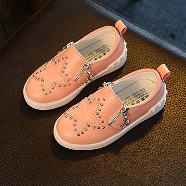 Kids Shoes New arrivals from Fashion Double Zipper Brand Designer PU Leather Children Casual Shoes boys & Girls Sneakers 361A