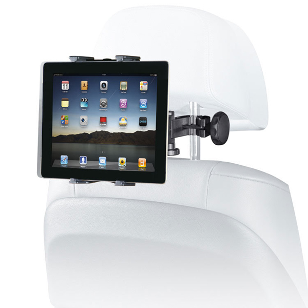 Universal Car Back Seat Headrest Mount Holder Table Mount Holder for iPad 2/3/4 Tablet PC GPS Car Headrest Mount Holder-Black