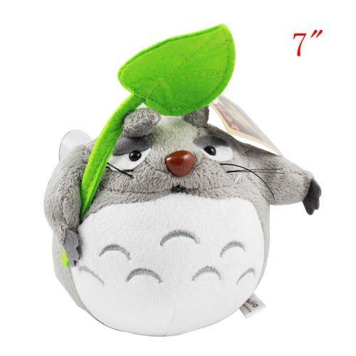 "7"" Cute Anime Totoro Stuffed Plush Doll Toy with Sucker ..."