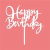 Felice Torta Di Compleanno Topper 3