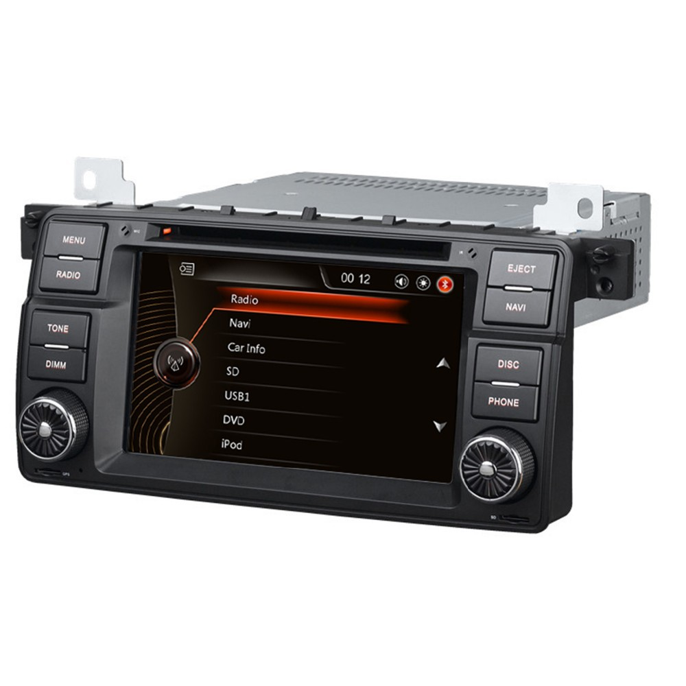 car dvd gps navigation system for bmw e46 car multimedia. Black Bedroom Furniture Sets. Home Design Ideas