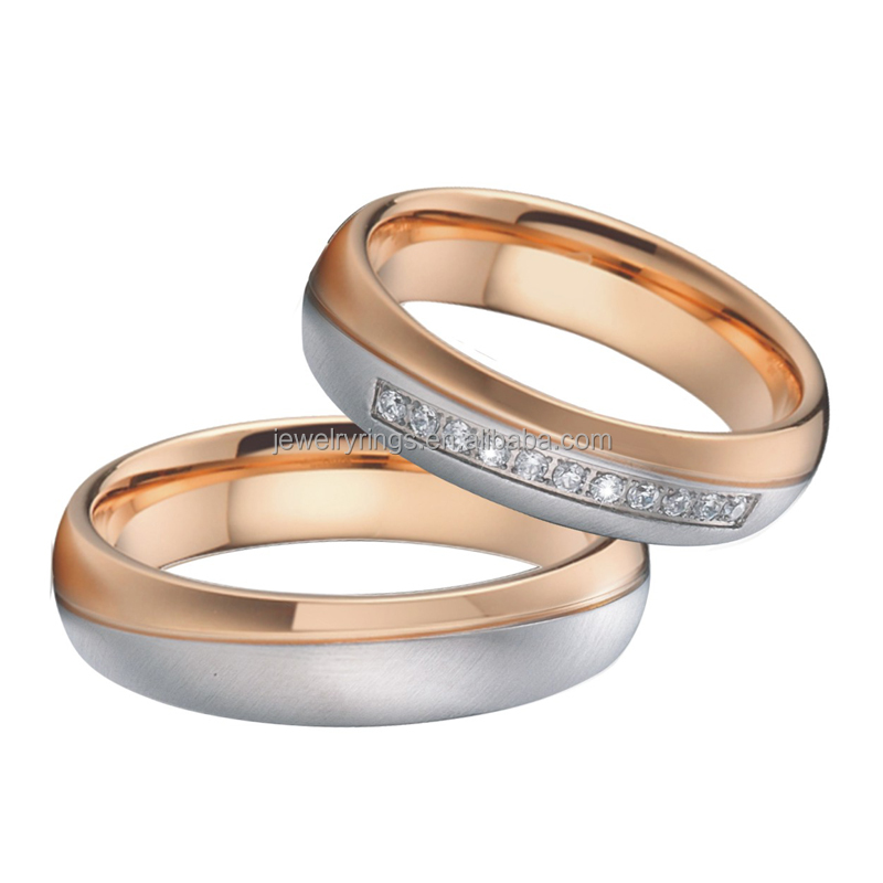 Attractive hand-made partner ringswedding Bands