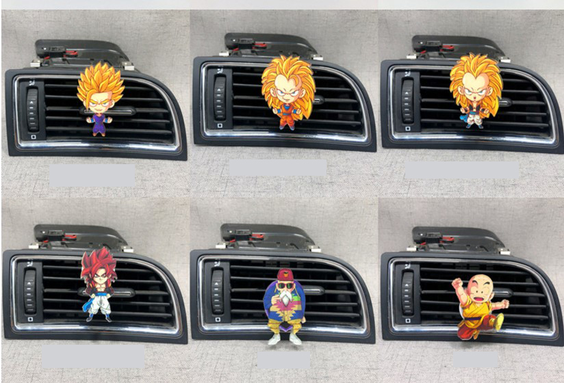 Cartoon Air Freshener Car Styling Perfume For Air Condition Vent Outlet Clip