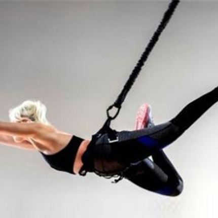 Bungee Dance Fitness Aerial Yoga Cord Suspension Sling Pull Rope Resistance Band