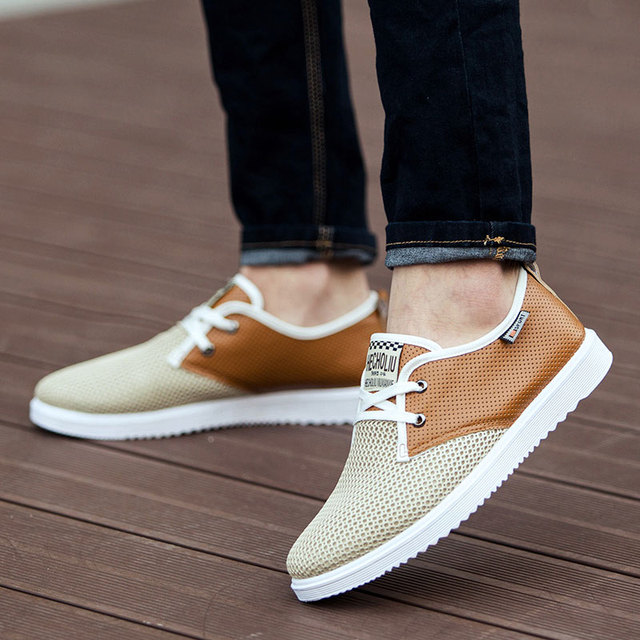 2016 Hot Sale Men Summer Shoes Breathable Male Casual