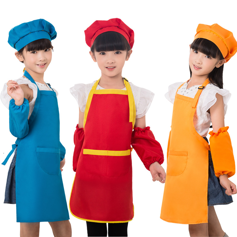 Customized High Quality Lovely Kitchen Colorful Kids Apron Children Painting Apron Kitchen Aprons Waterproof Buy Painting Apron Aprons For Kids Kitchen Aprons Waterproof Product On Alibaba Com