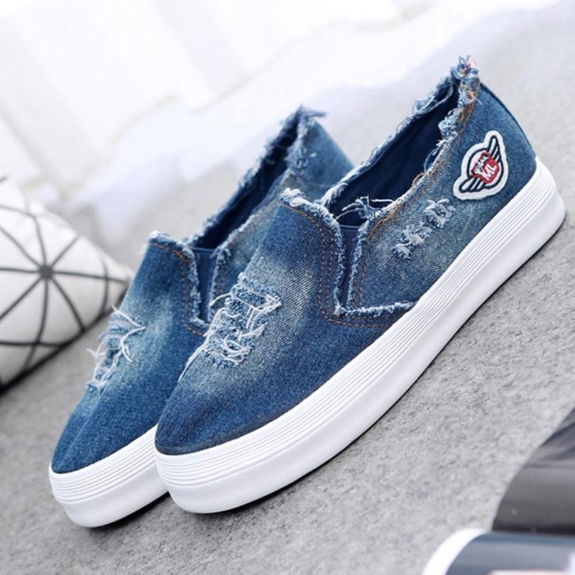 Ladies Vintage Canvas Shoes