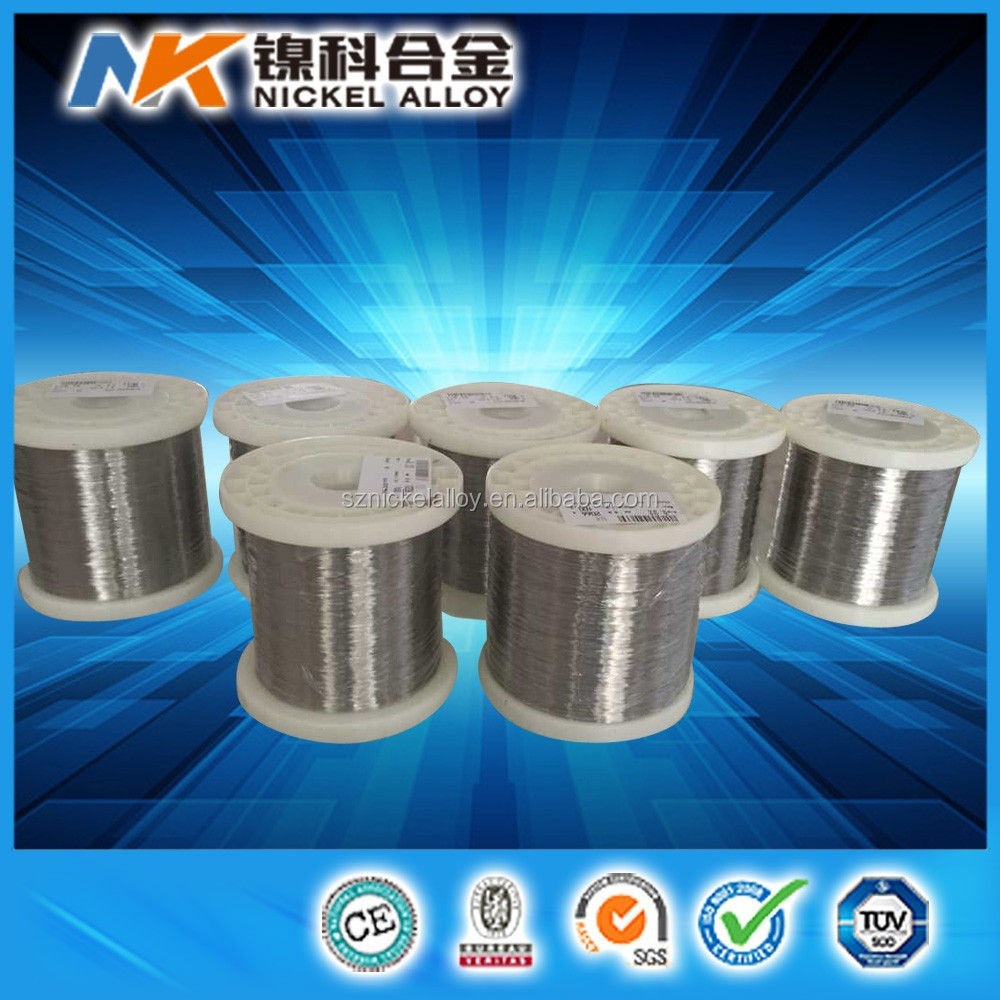 China wholesale np1 np2 pure nickel wire buyers 0.025 mm