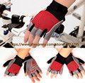 Hot Bicycle Gloves Half Finger Shockproof Mountain bike gloves half finger Cycling gloves Summer Good Air