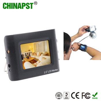 Top sale portable CCTV security DC5V 2.5'' TFT LCD monitor mini video CCTV Tester PST-Stest250M