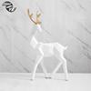 B look back deer white
