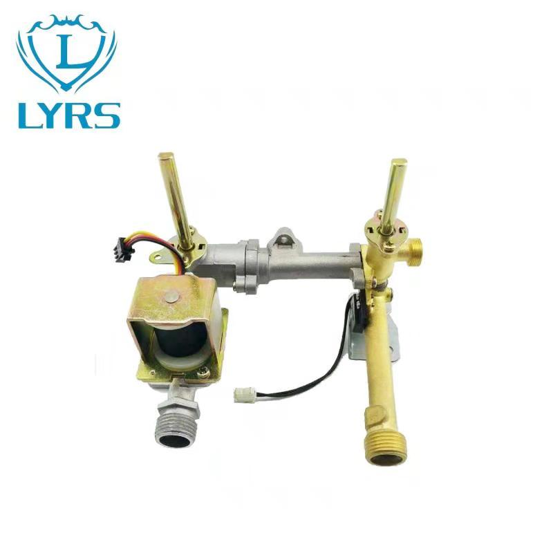 Gas water heater valve from factory