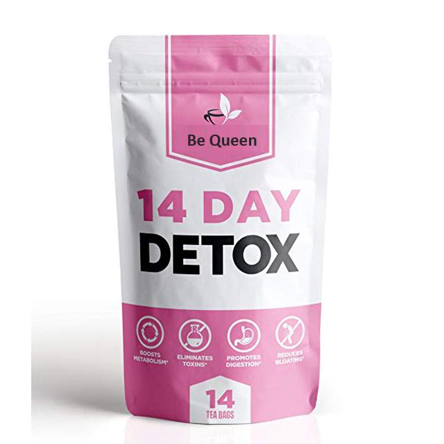 Японский Травяной чай для похудения 14 дней, 100% безопасный, без побочных эффектов, частная марка, чай для похудения, Детокс