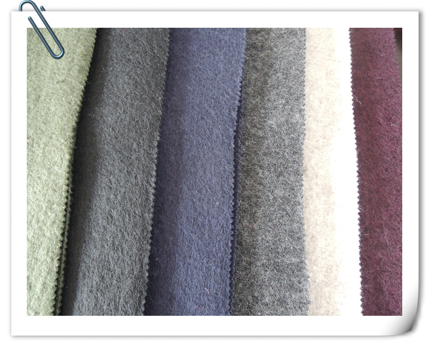 100% двухсторонняя шерстяная кашемировая ткань для пальто