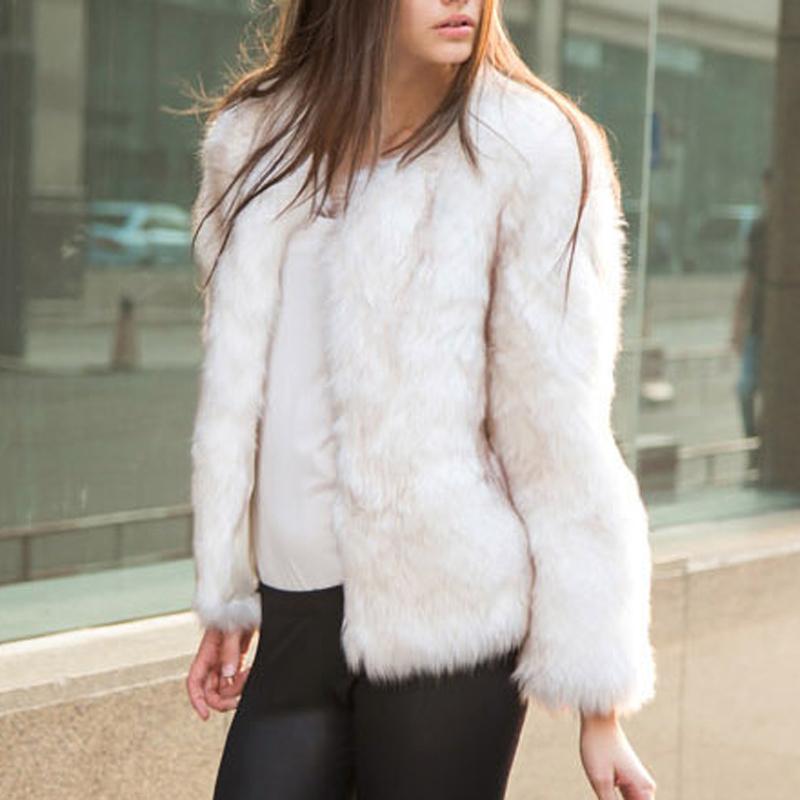Short White Fur Coat Coat Nj