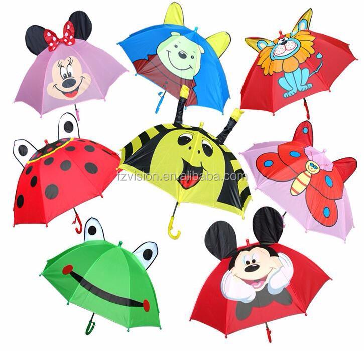 Payung Hewan Kartun Tahan Air Poliester Pegangan Panjang Grosir Untuk Anak Anak Buy Kartun Hewan Payung Untuk Anak Anak Hewan Payung Payung Untuk Anak Anak Product On Alibaba Com