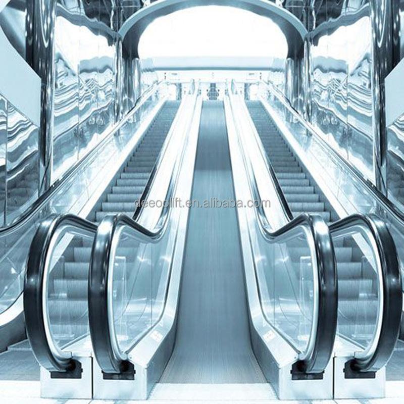 Система эскалатора поручней торгового центра