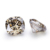Wholesale Excellent Light Champagne Moissanite 7x7mm Cushion Shape Brilliant Cut Synthetic Gemstone Jewelry