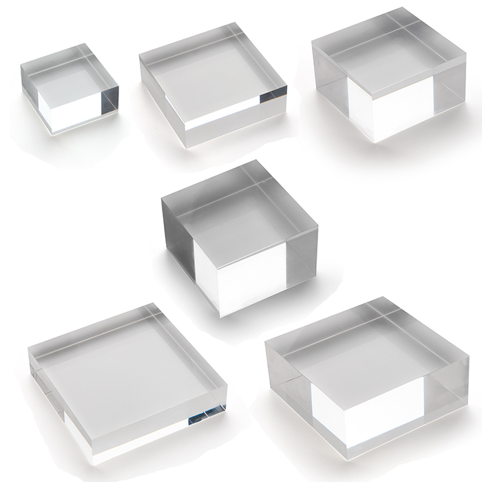 Transparent Clear And White Black Compact Cast Acrylic Blocks Curved Acrylic  Panels - Buy Curved Acrylic Panels,Transparent Clear And White Black  Compact Cast Acrylic Blocks,Solid Acrylic Block Product on Alibaba.com