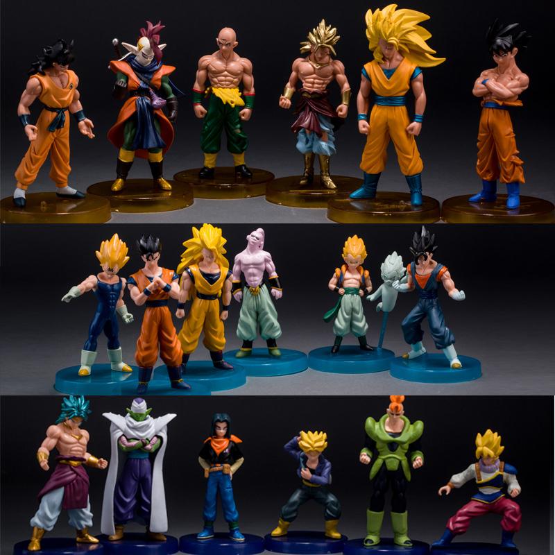 -Mô hình nhân vật Dragon Ball cực đẹp tương ứng với số sao của viên ngọc.