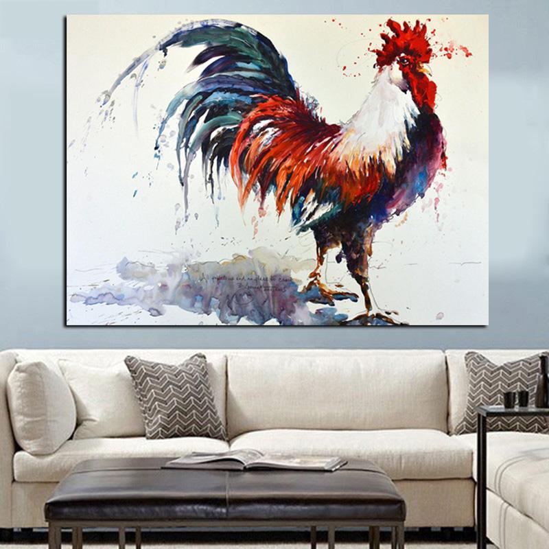 Achetez en Gros Coq peinture à l'huile en Ligne à des
