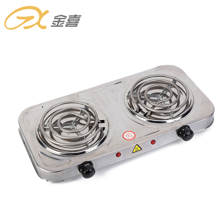 2000 Вт отличное качество низкая цена домашняя кухонная плита электрическая катушка двойная горелка горячая плита