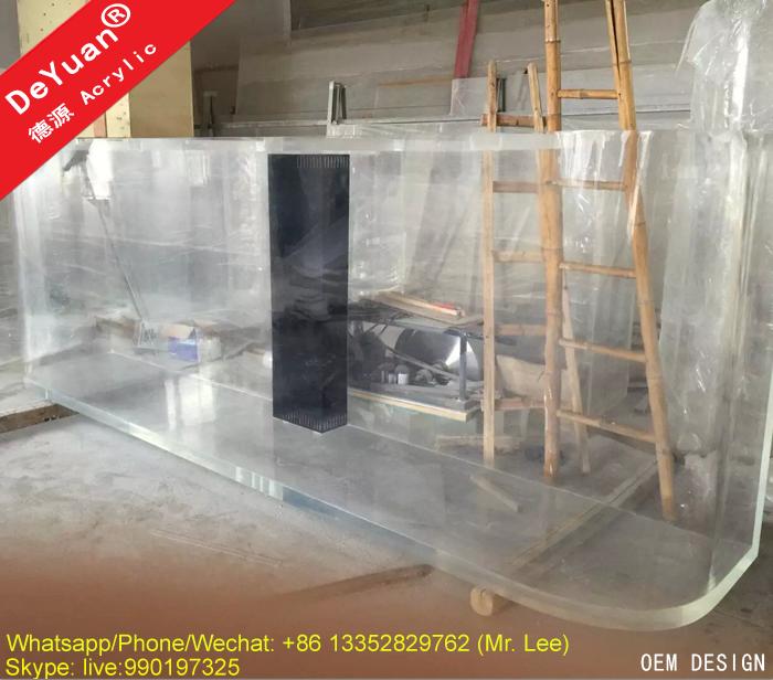 large project custom acrylic aquarium clear big fish tank buy aquarium aquarium tank clear. Black Bedroom Furniture Sets. Home Design Ideas