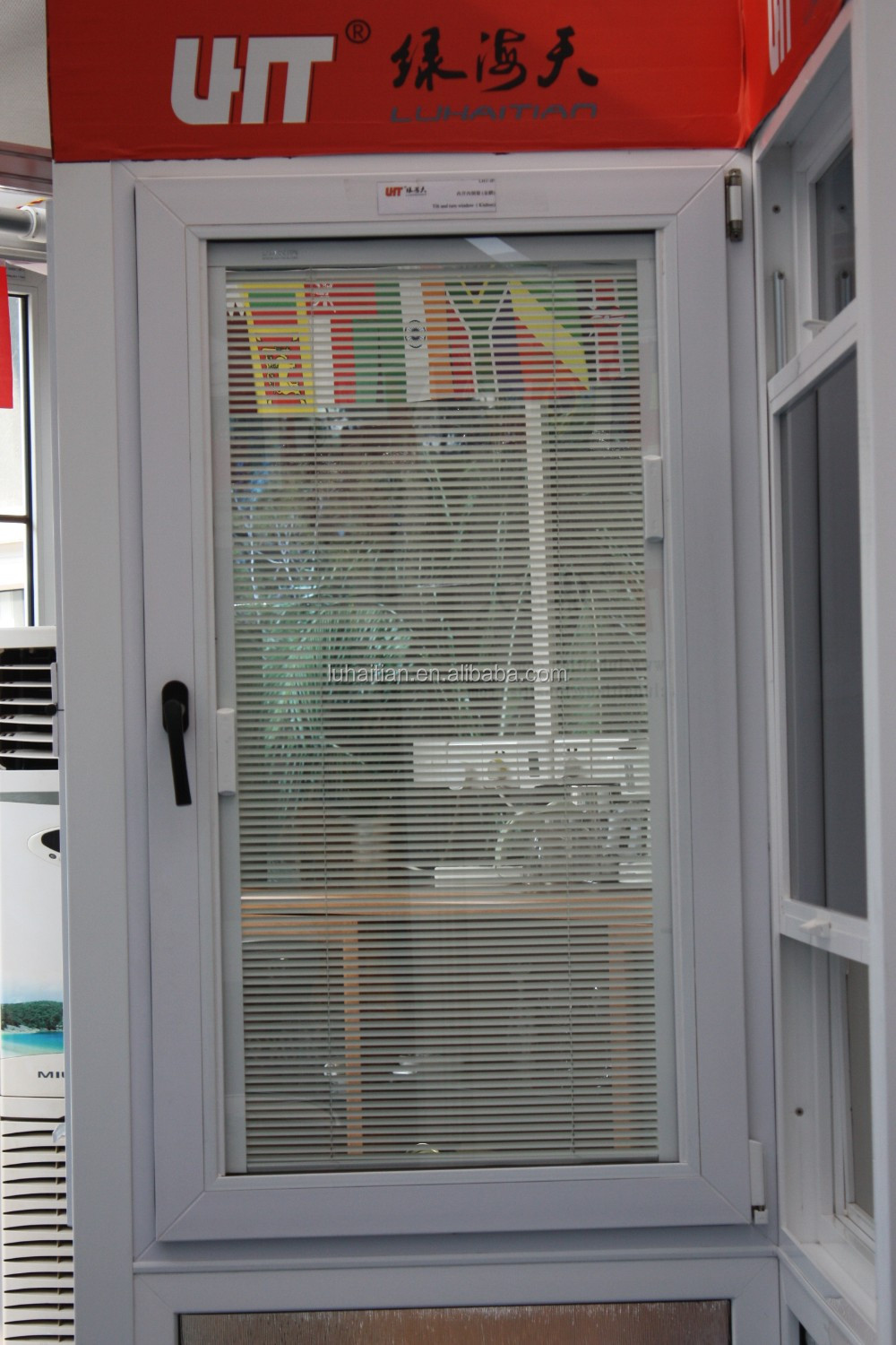 Electric Bullet Proof Window Display Pvc Transparent