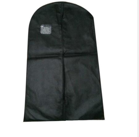 Nonwoven Foldable Bag For Suit Dress Jacket Cover Storage Transparent window Garment Bag