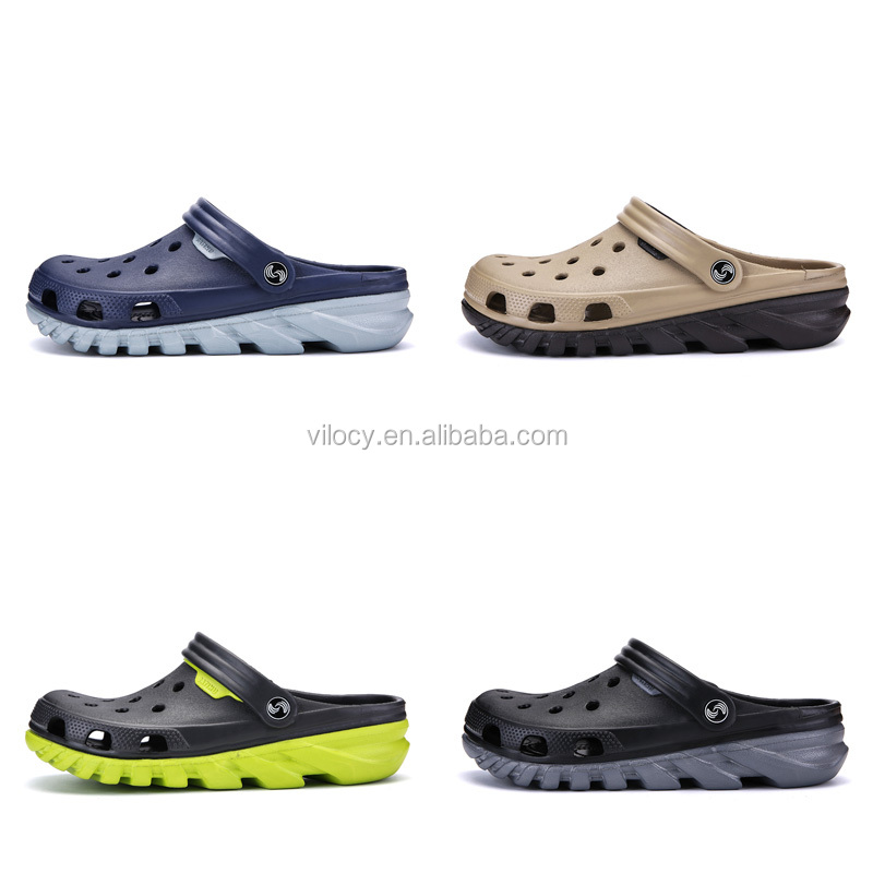 2021 hot sale light kitchen waterproof shoes slippers for clog charms flower womens casual latest custom clogs men