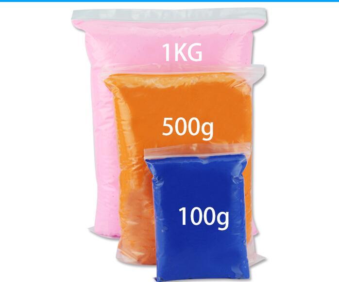 500 г/пакет Большая упаковка, модель, сухая на воздухе глина, Высококачественная супермягкая глина, Нетоксичная легкая полимерная глина в акции