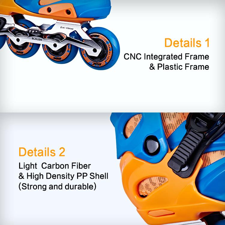 Детские роликовые коньки 72 мм MX KS400
