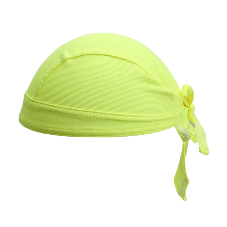 Outdoor sport Breathable UV Headwear Quick Dry Solid Cycling Headbands Running Riding Pirate Hat