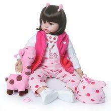Силиконовая кукла reborn NPKCOLLECTION, 48 см(Китай)