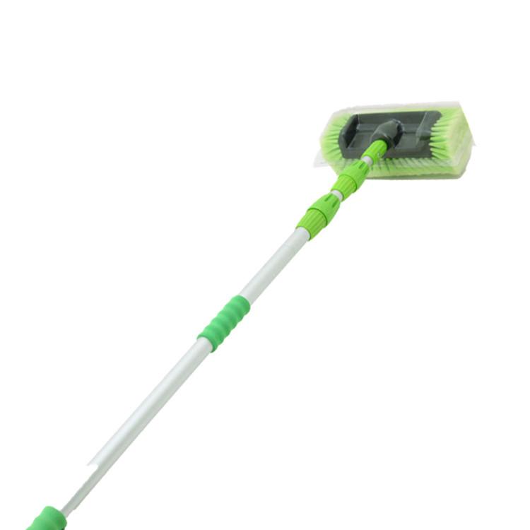 5-сторонняя водопроводная мягкая щетина, алюминиевая телескопическая ручка для очистки автомобиля