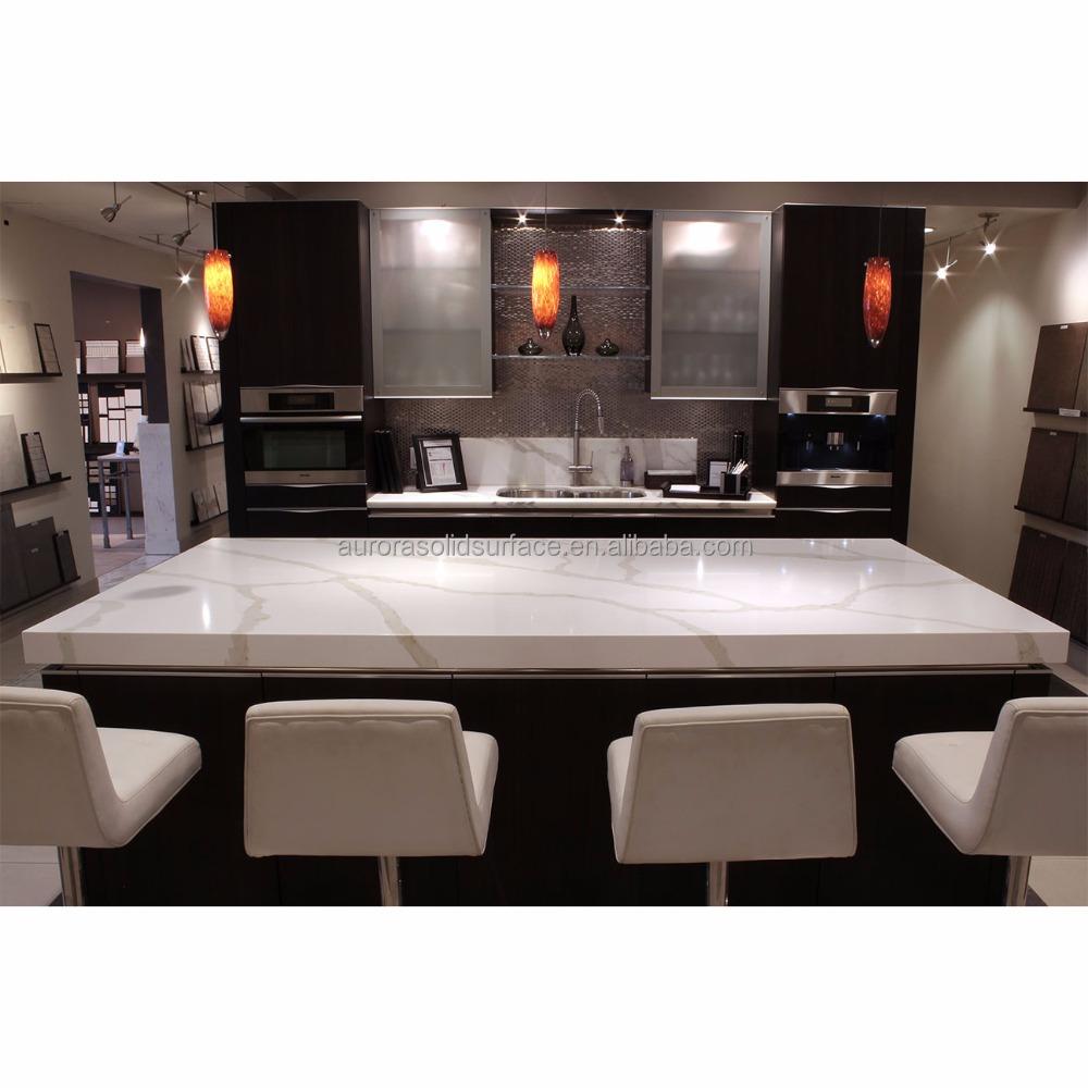 Artificial Quartz Stone Top Dining Tables/sparkle Quartz Solid ...