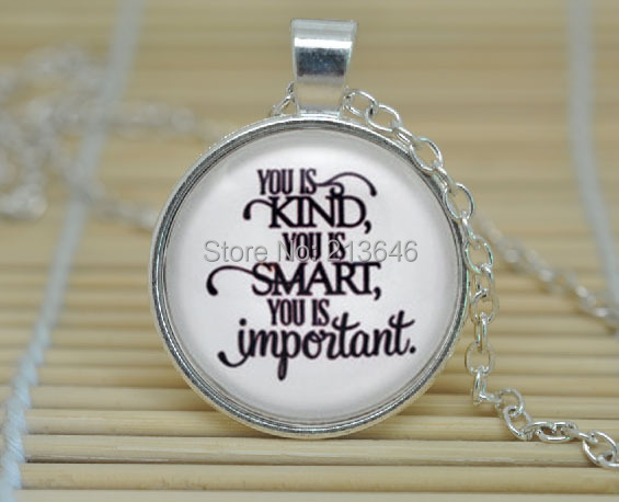 10pcs The Help 'You Is Kind, You Is Smart, You Is
