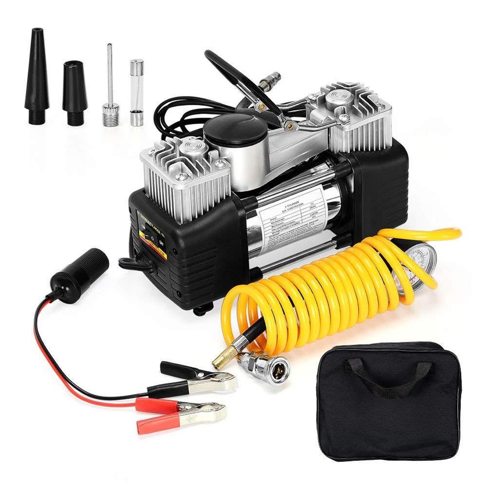 x-trade Heavy Duty Metal 12v Car Compressor 150psi Air Compressor Pump