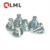 Wholesale Nickel Plated Solid Carbon Steel Flat Head Shoulder Rivets In Stock