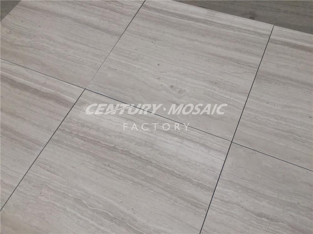 305x610mm Wood Light Grain Marble Floor Tile For Flooring