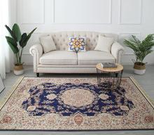 Мягкие ковры с кисточками в европейском стиле для гостиной, спальни, домашний ковер, деликатные мягкие коврики для украшения пола и дверей(Китай)