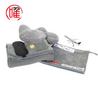 Airline Blanket Portable Travel Kits Eye Mask Inflatable Pillow Earplug Airline Blanket In Pouch