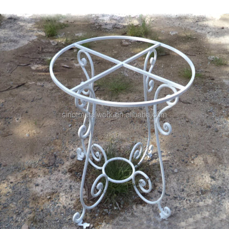 Steel Table Base Small Metal Coffee Table Base Vintage White Wrought Iron Table Base Buy Wrought Iron Table Bases For Sale Unique Table Bases Marble Pedestal Table Base Product On Alibaba Com