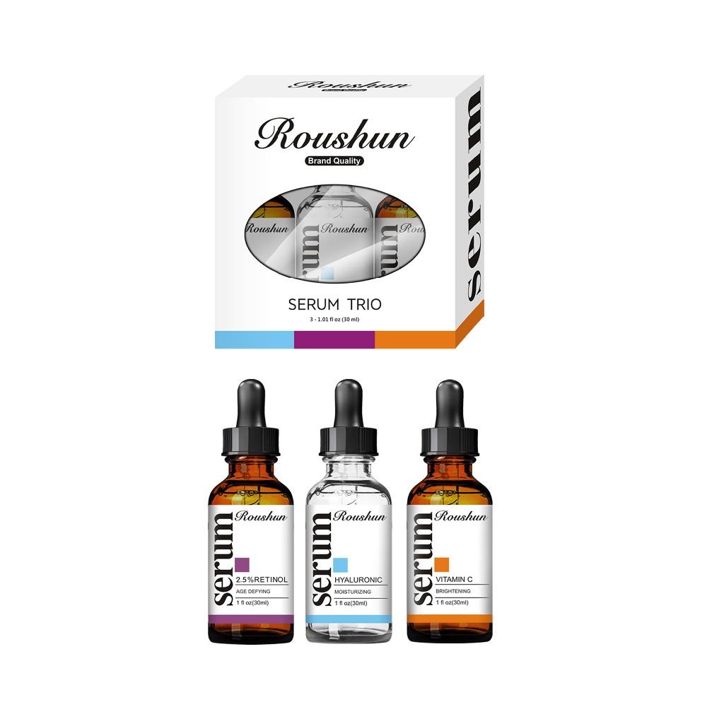 RouShun Serum Trio Vitamin C Hyaluronic 2.5%Retinol serum