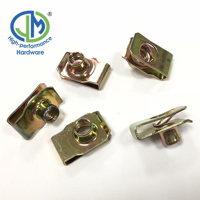 M6 Stainless Steel Spring U Nut Clip