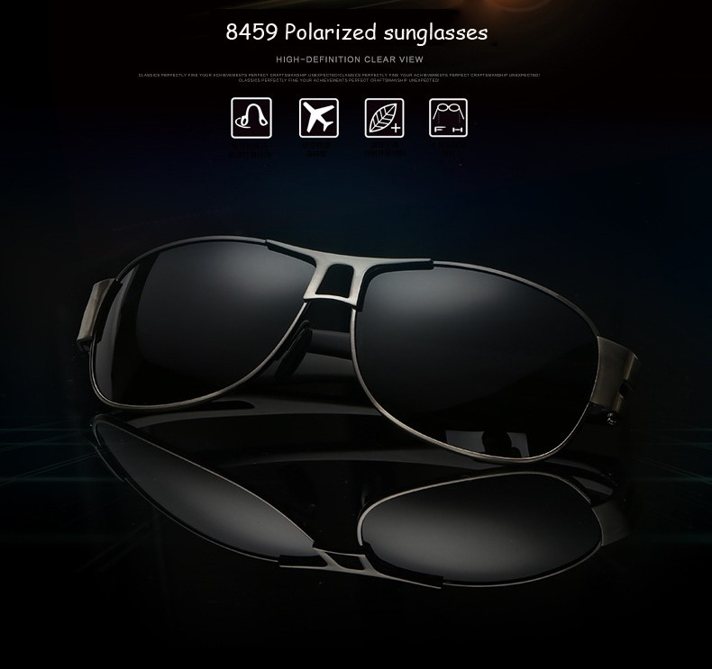 725811bfb5 High quality polarized sunglasses 2. High quality glasses bag 3. Glasses  cloth 4. Polarization test card